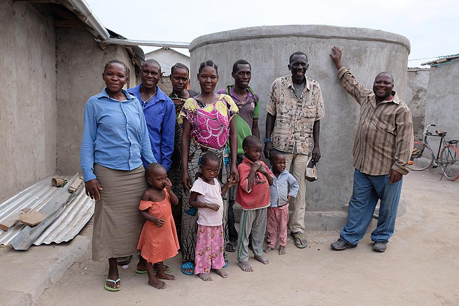 Zisterne Tansania Kolping