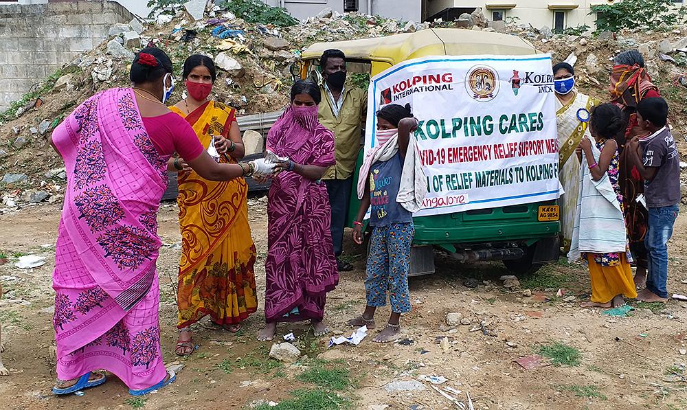 Coronahilfe Kolping Indien